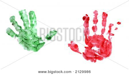 Childs Handprints