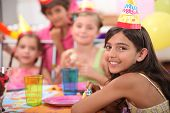 picture of birthday party  - Children - JPG