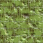 Weathered Green Metal Surface poster