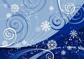 Постер, плакат: Зимние праздники вектор