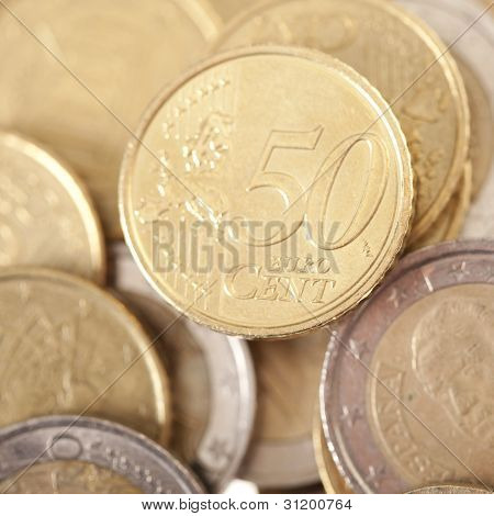 Fifty Euro Currency