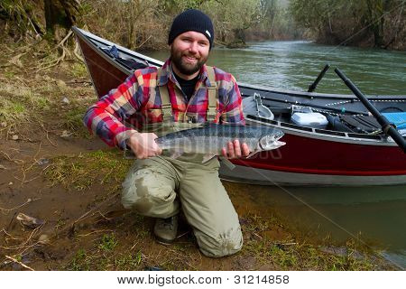 Steelhead Fisherman
