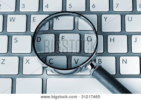 Magnifying On A Keyboard