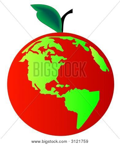 Earth Apple Red