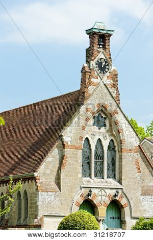 church in Burwell, East Anglia, England