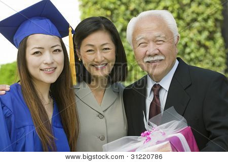 Family at Graduation