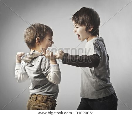Children quarreling