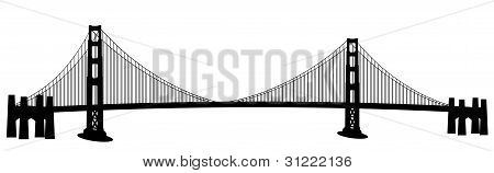 San Francisco Golden Gate Bridge Clip Art
