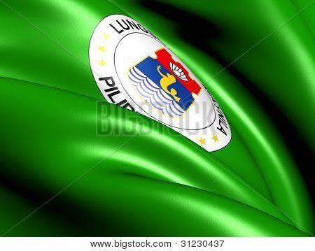 Flag Of Manila, Philippines.