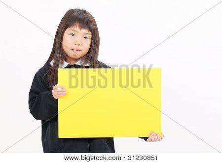 Colegiala asiática poco