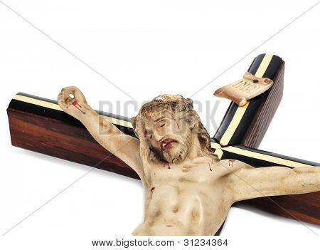 a figure of Jesus Christ in the holy cross
