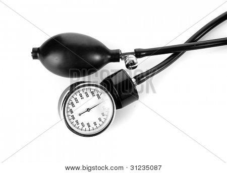 tonometer isolated on white
