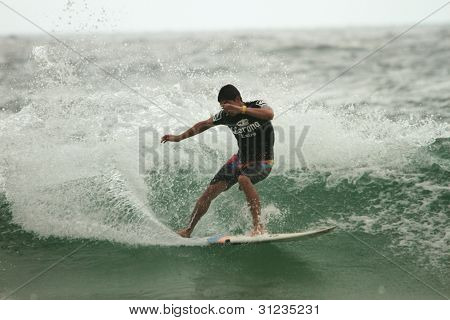 Coolangatta, Australia - Mar 03 : Quicksilver  Pro Asp World Tour, Gabriel Medina During Expression