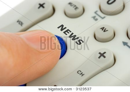 Hand Pushing Button News