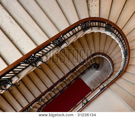 Down The Winding Staircase - Angled