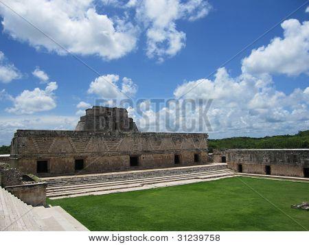 Uxmal ruins, yucatan mexico