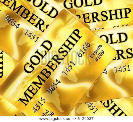 Gold Membership Card