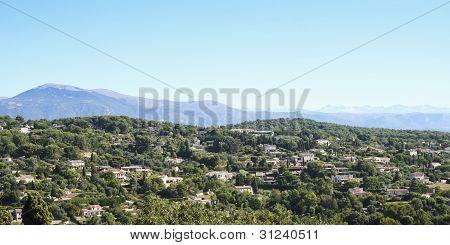 Villas de Mougins, sul da França