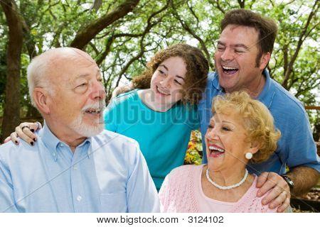 Vovô diz uma piada