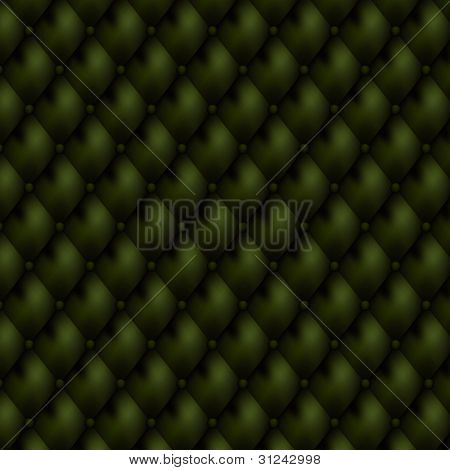 Luxury seamless green leather background