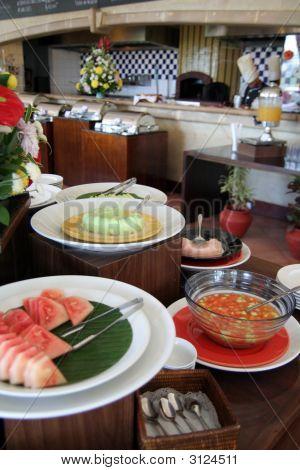 Dessert At Buffet