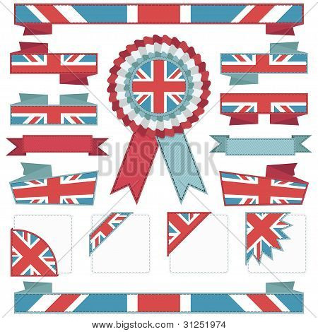 Uk Stitched Ribbons