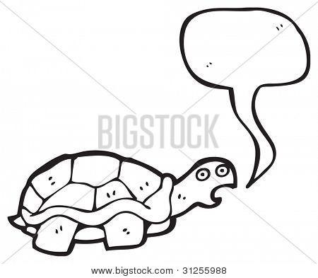 talking tortoise cartoon