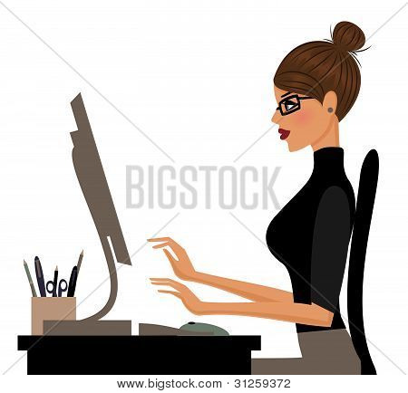 Mulher no trabalho