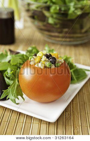 Quinoa Stuffed Tomato