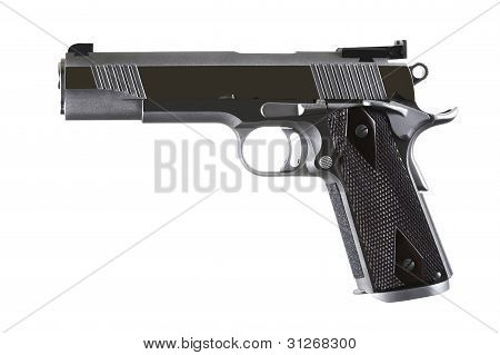 45 Caliber Custom Competition Match Grade Stainless Steel Automatic Pistol Model 1911 Style.jpg