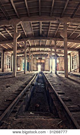 Inside An Abandoned Depot