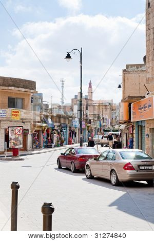 Touristic Area  In Town Madaba, Jordan