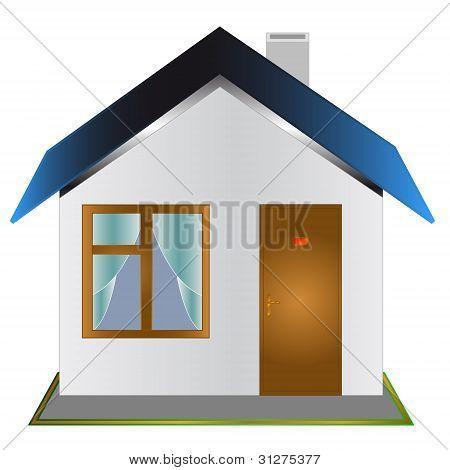 One-storeyed house