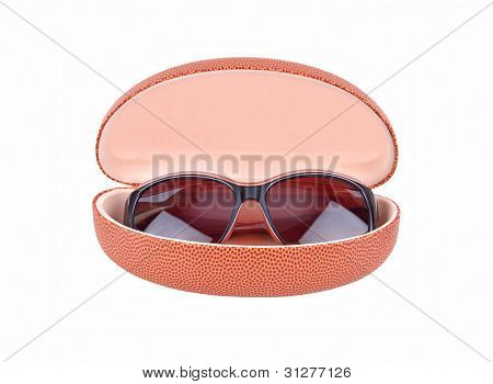 Sun glasses and eyeglasses case