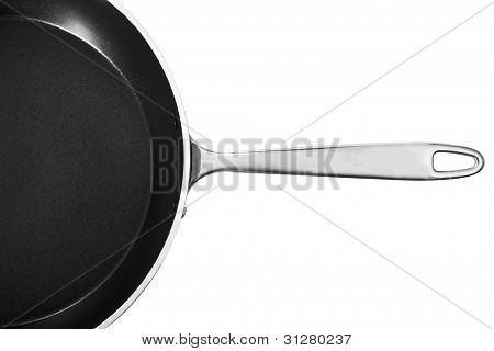 Frypan With Handle And Cover.