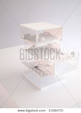 Japanese Style, Architectural Model