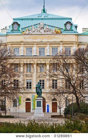 Vienna Technical Universit Main Entrance Karlsplatz, Vienna, Austria