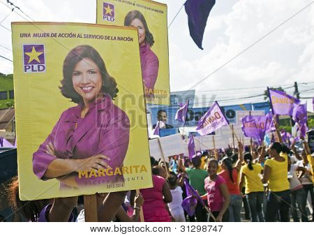 Dominincan Rep. Elections Campaign 2012