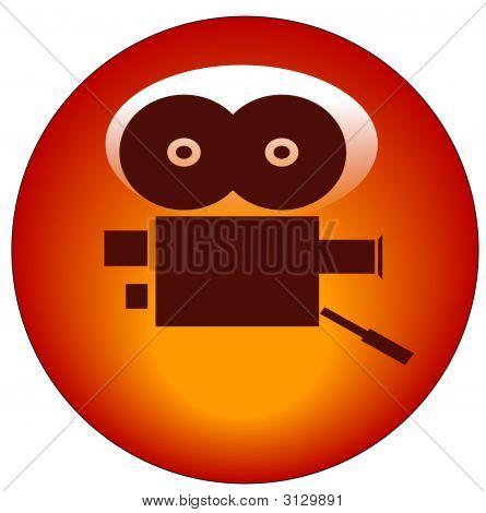 Button Movie Camera