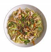 Noodle Stir Fry, Noodles, Chicken Noodles, Noodle Salad, Peanut Noodles, Udon Noodles, Thai Noodle,  poster