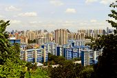 picture of faber  - View of Singapore from Mount Faber park - JPG