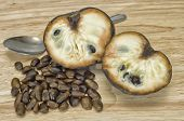 Custard Apple With Seeds