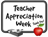 National Teacher Appreciation Woche