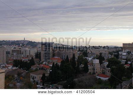 Jerusalem At Dawn.