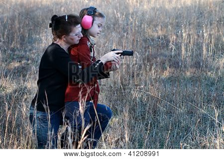 Mom And Daughter Shooting