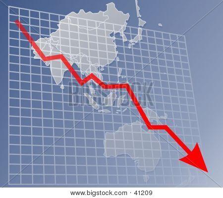 Chart Asia Down