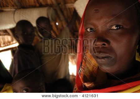 Woman In Darfur