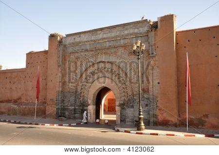 Bab Agnaou - antigua puerta en Marrakech