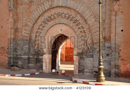 BAB Agnaou-Tor in Marrakesch