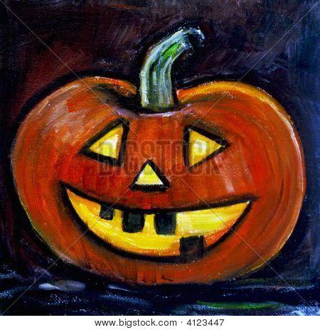 Halloween-Malerei